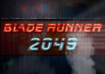 Blade Runner 2049 Neon poster by 3ftDeep