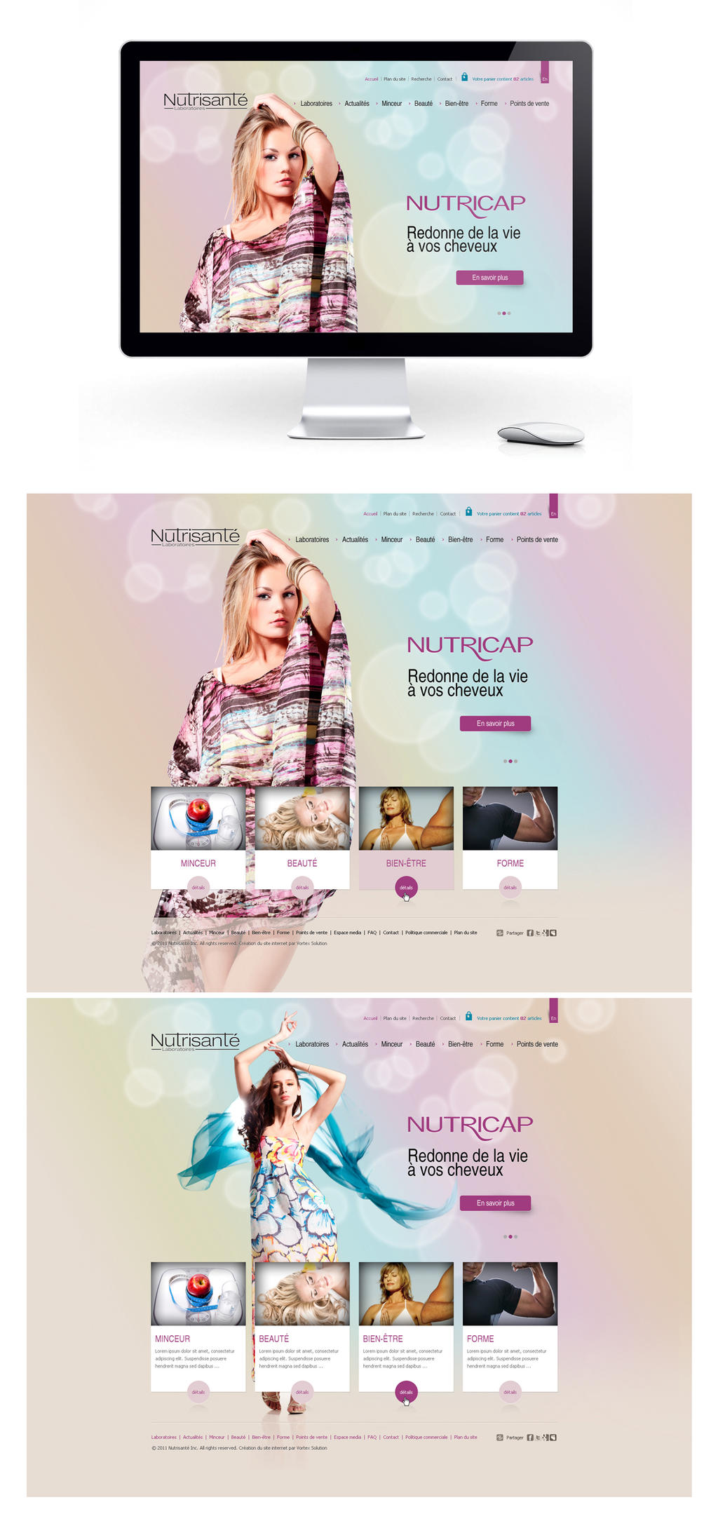 Nutrisante by Webdesignerps