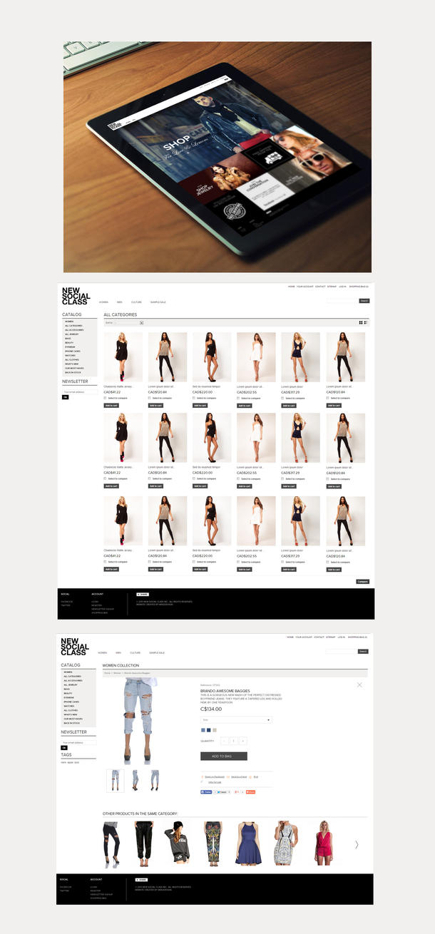 New Social Class by Webdesignerps