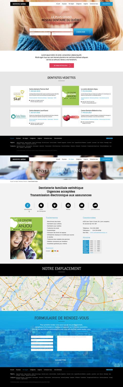 Reseau dentistes by Webdesignerps