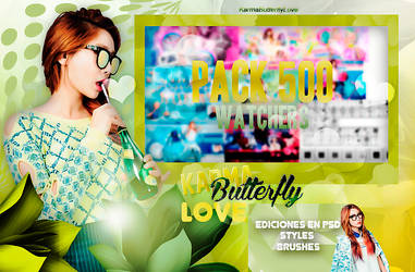 +Pack 500 Watchers|Muchas Gracias KBL by Pohminit