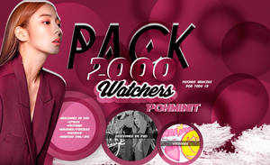 +PACK 2,000 WATCHERS Muchas Gracias by Pohminit