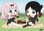 Chika and Kaguya