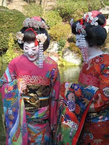 Fake Geishas, Kyoto, Japan 2006