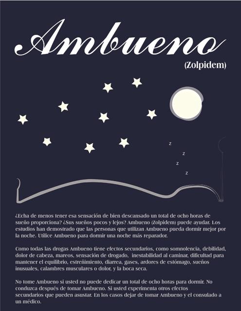 Spanish Drug Poster