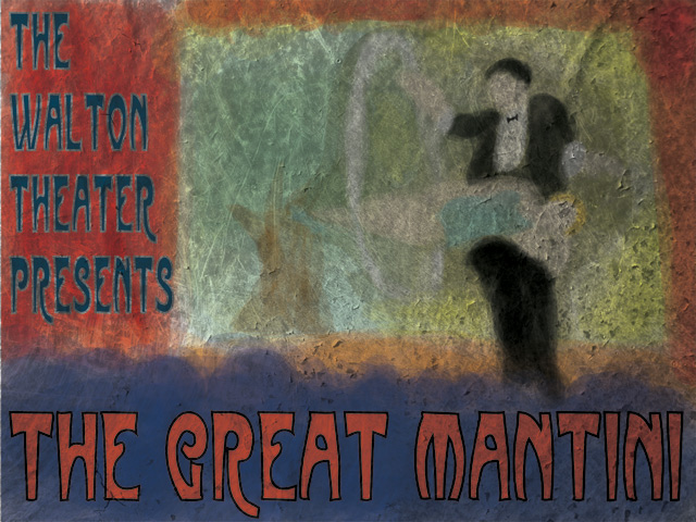 The Great Mantini Poster