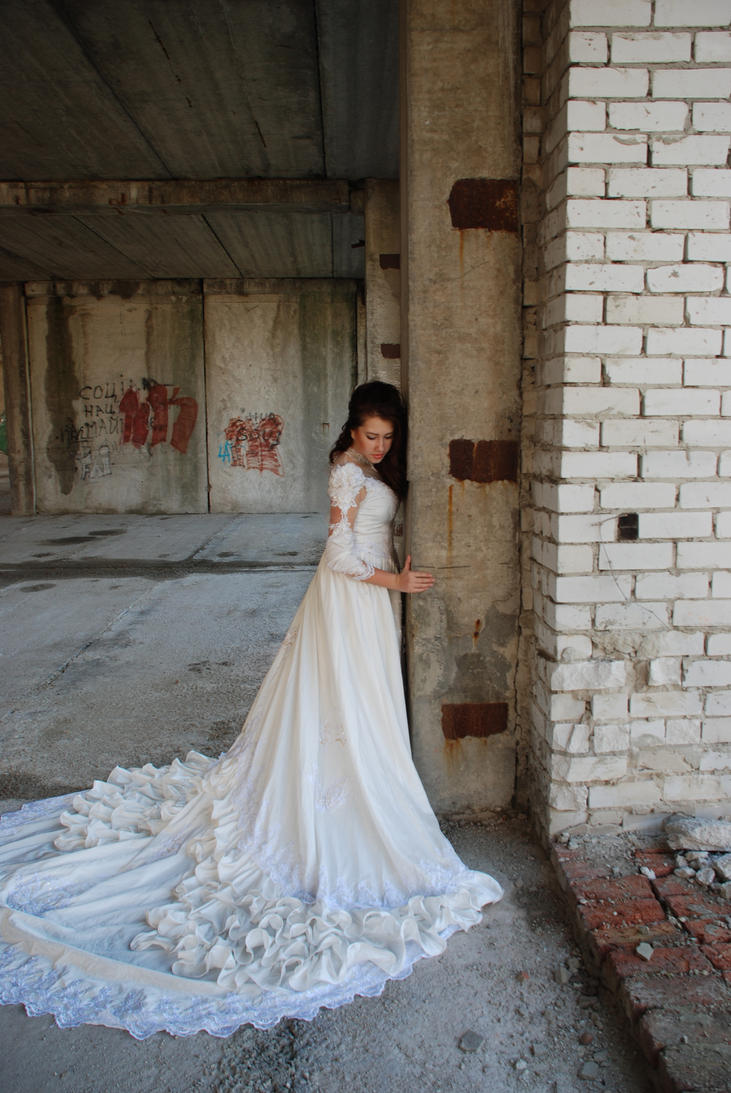 The sad bride_1 by anastasiya-landa