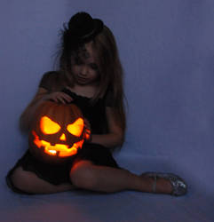 Halloween, pumpkin, light_1