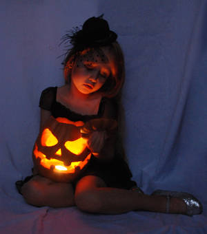 Halloween, pumpkin, light_2