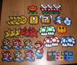 Super Mario's sprites