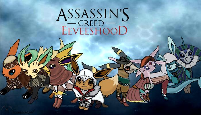 Assassins Creed Eeveeshood :3 by NecromancerX69