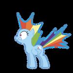 Rainbow Dash - Shocked