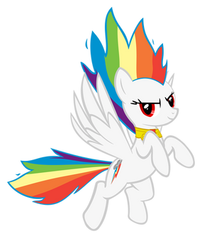 Super Rainbow Dash - Flame of Loyalty
