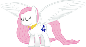 Super Fluttershy - Wings of Kindness by GeoNine