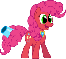 Super Pinkie Pie -  Unbridled Laughter by GeoNine