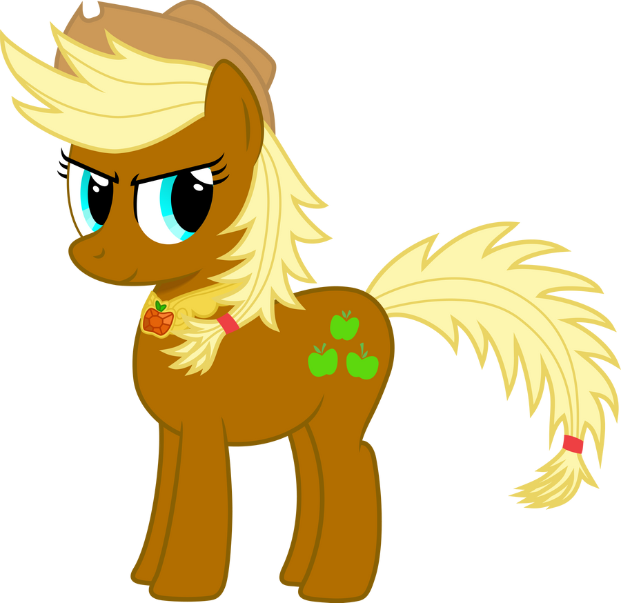Super Applejack - Guardian of Honesty by GeoNine