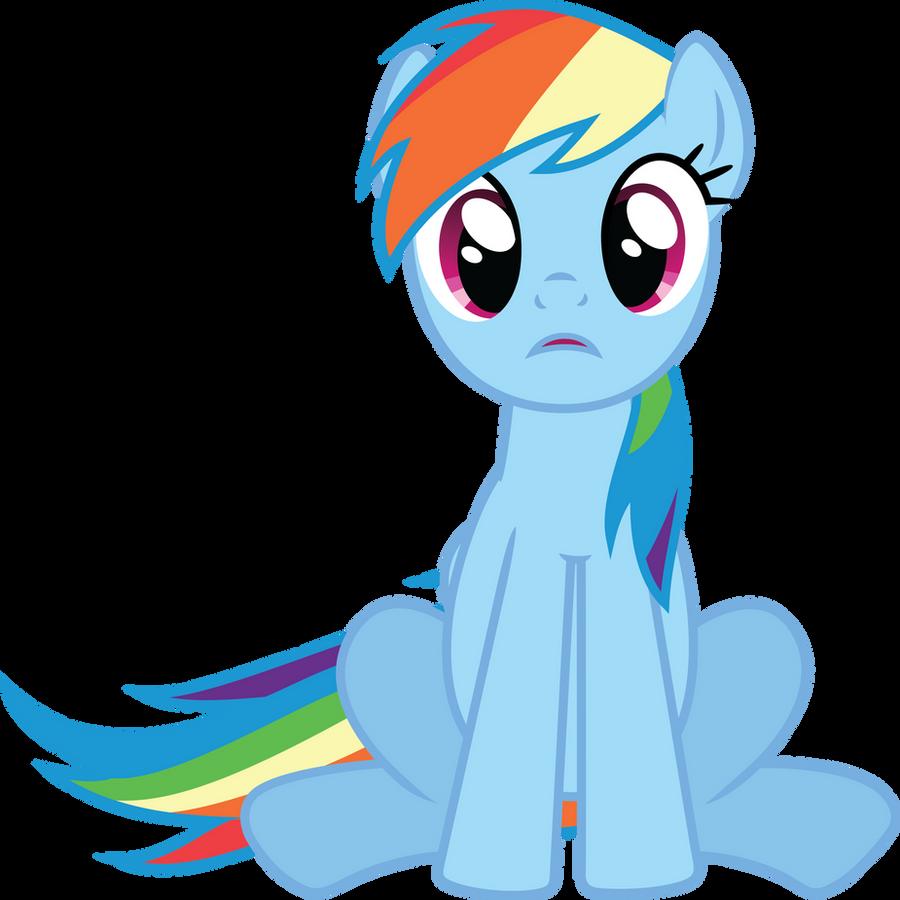 Rainbow Dash - What? by GeoNine