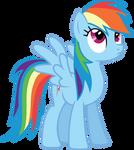 Rainbow Dash - Thinking