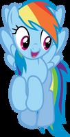 Rainbow Dash - Happy Flying