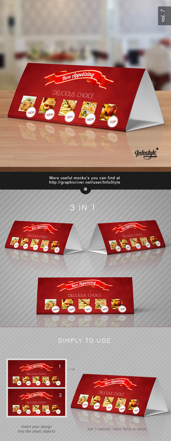 Table Tent Card Designs