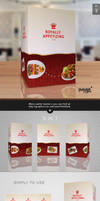 Paper Table Tent Mock-up Template Vol.9 by Itembridge