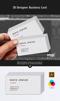 3d Business Card by Itembridge