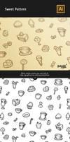 Sweet Coffee Pattern by Itembridge