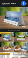 Desk Calendar Mock-Up V2 by Itembridge