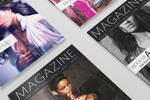 Photorealistic A5/A4 Magazine Mockup