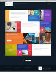 12 - Flat and Responsive PSD Template