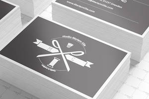 Business Cards Mock-up (85 X 55) by Itembridge