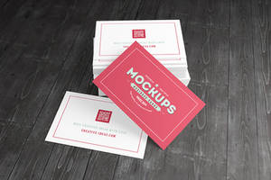 [85x55] Business Cards Mock-ups by Itembridge