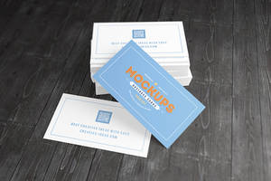 [90x50] Business Cards Mock-ups by Itembridge