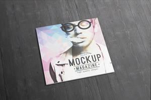 10 Square Magazine / Brochure Mock-ups by Itembridge
