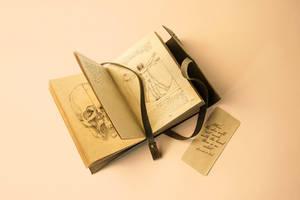 12 Vintage Notebook Mock-ups by Itembridge