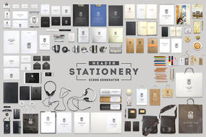 Header Stationery Scene Generator by Itembridge
