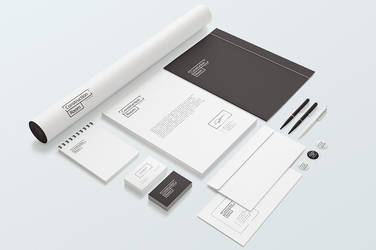 Stationery Branding Mockups set by Itembridge