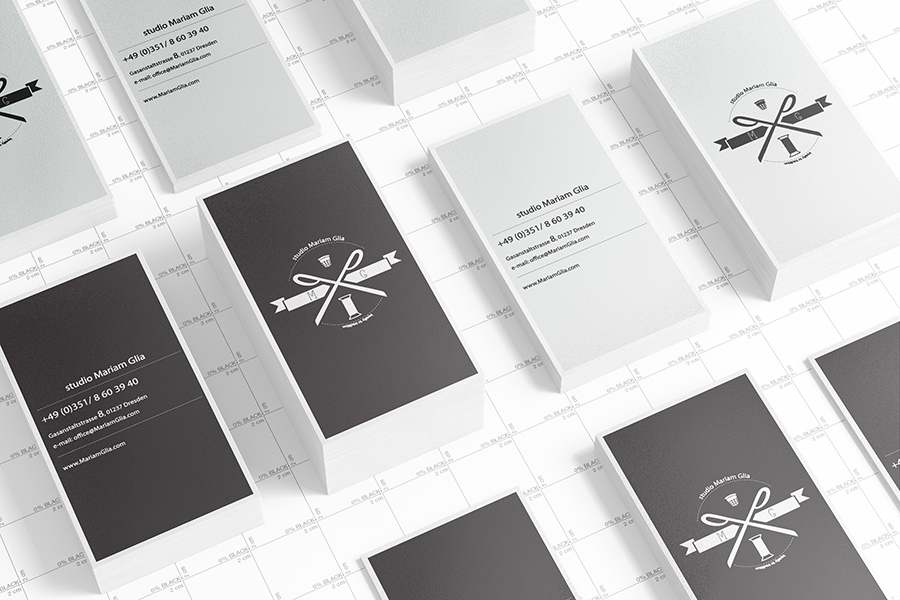 Business Cards Mock up (90x50) by Itembridge