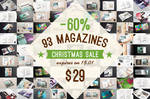 Magazine Mock-ups Pack Christmas Sale by Itembridge