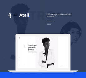 Atail Unique Portfolio Template