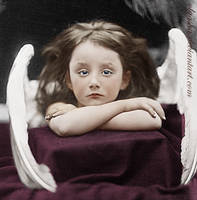 Sad little angel by olgasha