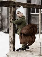 Little ice skater by olgasha