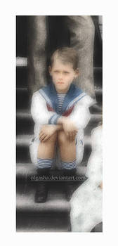 Sad little Misha
