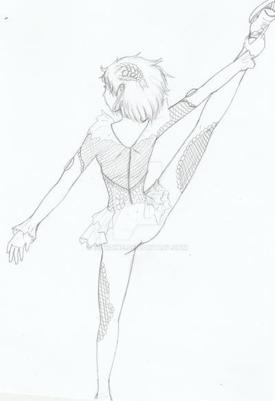 Yuri Plisetsky- Stretch -Yuuri on ICE!!- by IcyRaine