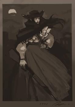 wild west vampire lady