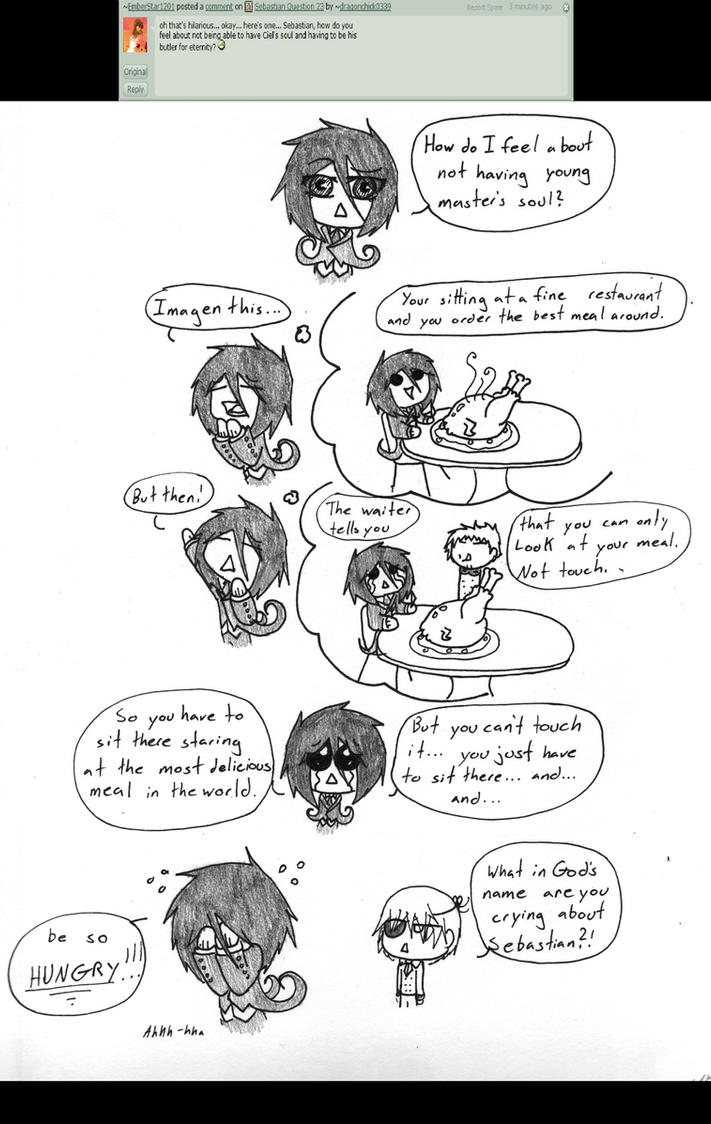 Sebastian Question 25 (Spoiler Alert) by NobleTanu