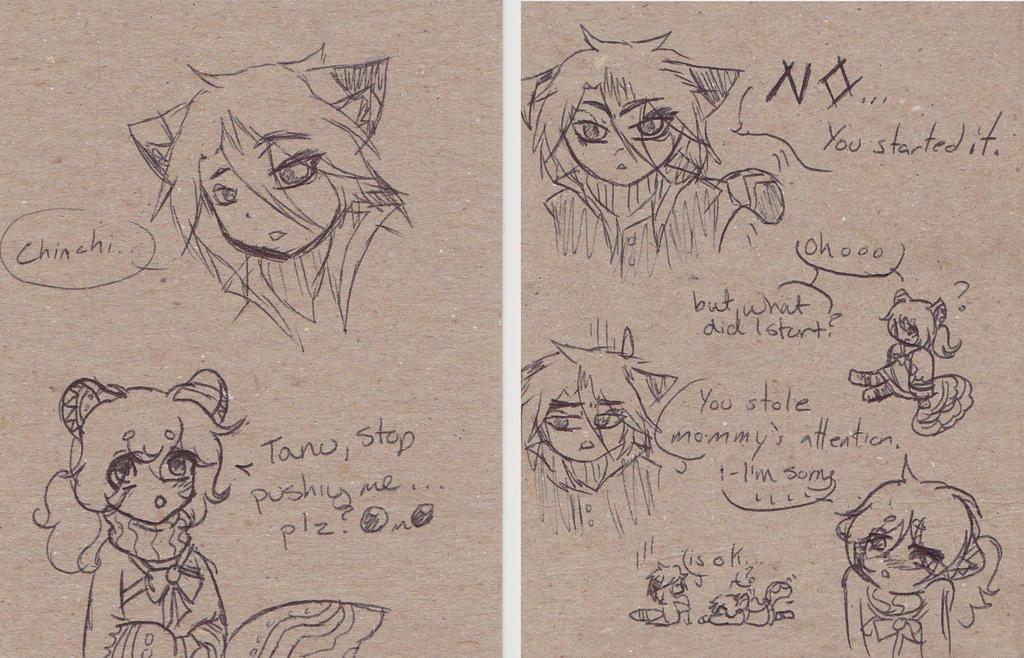 Chinchi and Tanu Adventure! by NobleTanu