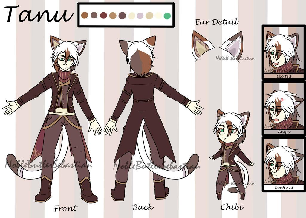 Reference Sheet- Tanu by NobleTanu