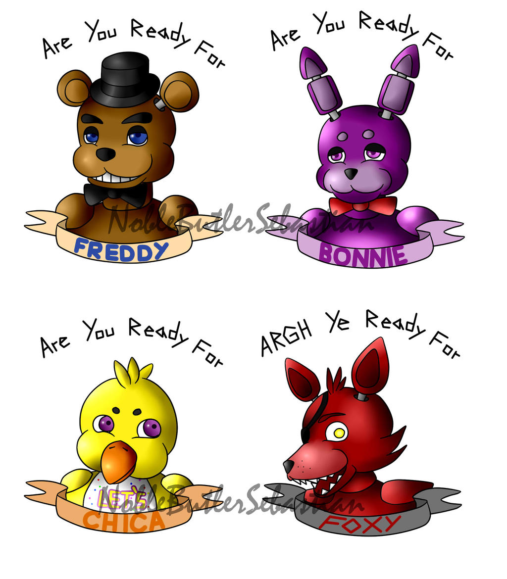 Are You Ready For FNAF by NobleTanu