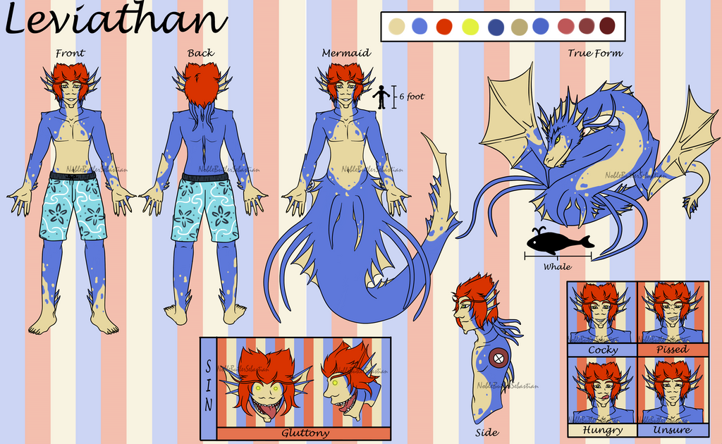 [P]Leviathan Ref Sheet (SFW) by NobleTanu